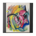 Franz Marc - Small composition II Tile