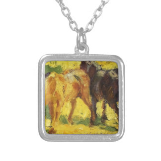 Franz Marc- Small Horse Picture Necklaces