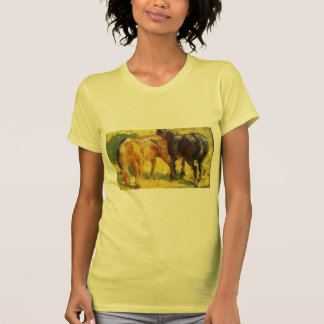 Franz Marc- Small Horse Picture Shirts