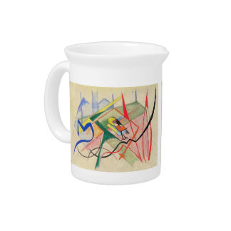 Franz Marc - Small mythical creatures Pitchers