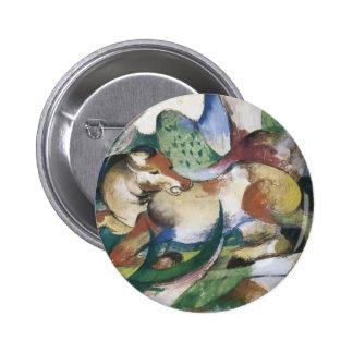 Franz Marc Springendes Pferd Buttons