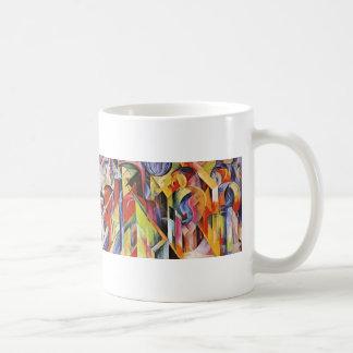 Franz Marc- Stables Classic White Coffee Mug
