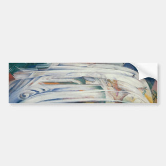 Franz Marc - The Bewitched Mill Bumper Sticker
