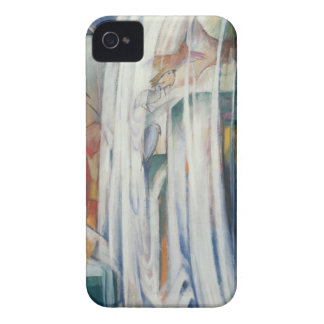 Franz Marc - The Bewitched Mill iPhone 4 Case-Mate Case
