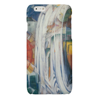 Franz Marc - The Bewitched Mill Glossy iPhone 6 Case