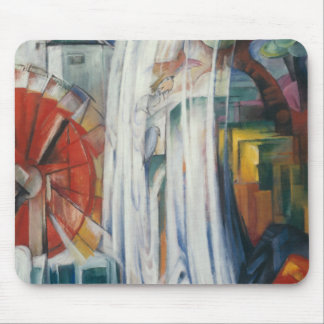 Franz Marc - The Bewitched Mill Mouse Pad