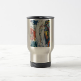Franz Marc - The Bewitched Mill Travel Mug