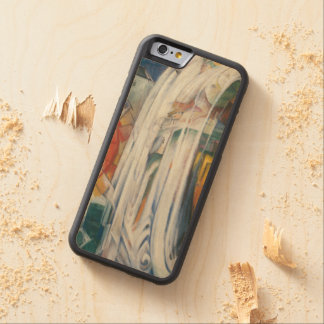 Franz Marc - The Bewitched Mill Carved® Maple iPhone 6 Bumper Case