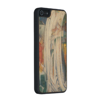 Franz Marc - The Bewitched Mill Carved® Maple iPhone 5 Slim Case