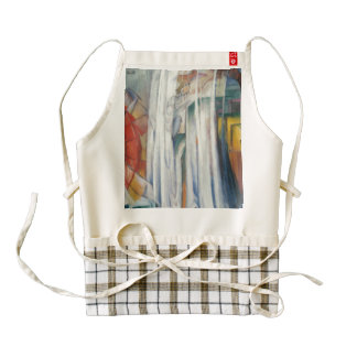 Franz Marc - The Bewitched Mill Zazzle HEART Apron