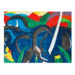 Franz Marc - The Blue Horse Postcard