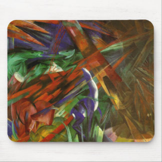 Franz Marc - The Fate of Animals Mouse Pad