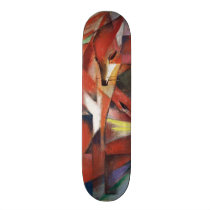 Franz Marc - The Foxes, 1913 Skateboard