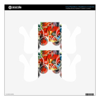 Franz Marc The Foxes PS3 Controller Skins