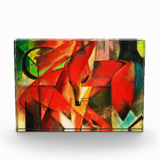 Franz Marc The Foxes Red Fox German Expressionism Award