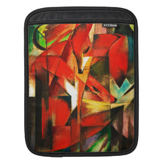 Franz Marc The Foxes Red Fox German Expressionism iPad Sleeves