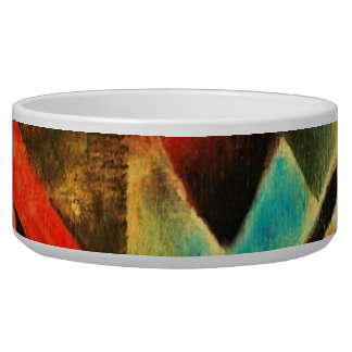 Franz Marc The Foxes Red Fox Modern Art Painting Bowl
