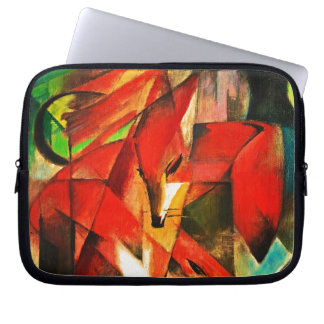Franz Marc The Foxes Red Fox Modern Art Painting Laptop Sleeves
