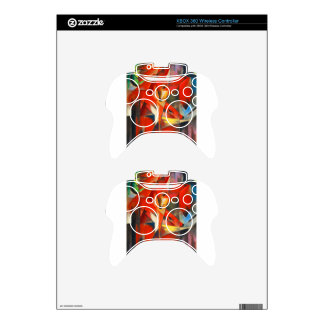 Franz Marc The Foxes Xbox 360 Controller Decal