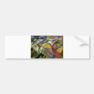Franz Marc The Lamb 1913-14 Sheep Ewe Baby Animal Bumper Sticker