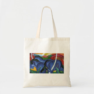 Franz Marc- The Large Blue Horses Bags