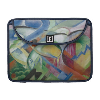 Franz Marc, the sheep/ フランツ·マルク,  ヒツジ Sleeves For MacBooks