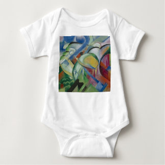 Franz Marc, the sheep Baby Bodysuit