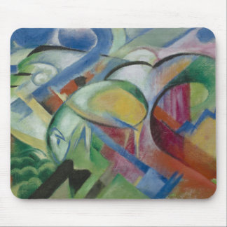 Franz Marc, the sheep Mouse Pad