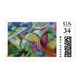 Franz Marc, the sheep Postage