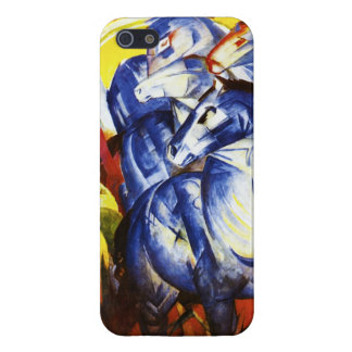 Franz Marc The Tower of Blue Horses iPhone 5 Case
