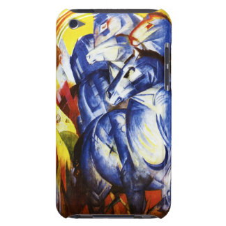 Franz Marc The Tower of Blue Horses iPod Case iPod Touch Cases