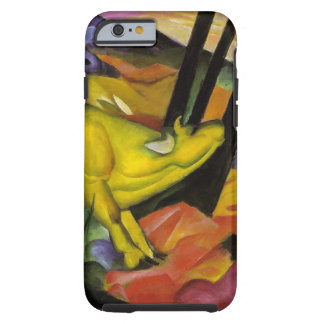 Franz Marc - The Yellow Cow - Expressionist Art Tough iPhone 6 Case