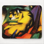 Franz Marc - Tiger (1912) Alfombrilla De Ratón