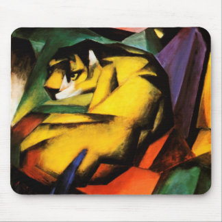 Franz Marc - Tiger 1912 Mouse Pad