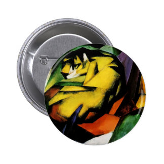 Franz Marc- Tiger Button