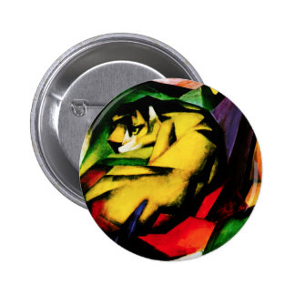 Franz Marc Tiger Button