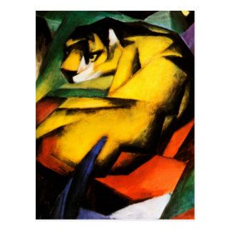 Franz Marc - Tiger Postcard