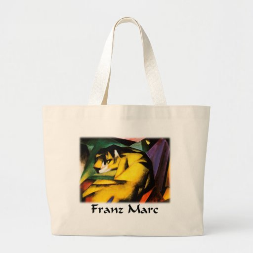 Franz Marc - Tiger Tote Bag