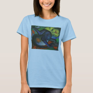 Franz Marc - Two Cats Blue & Yellow 1912 kitty oil T-Shirt