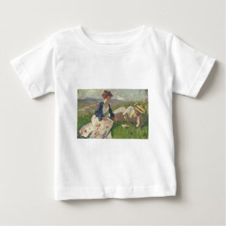 Franz Marc - Two Women on Mountain 1906 Female Baby T-Shirt