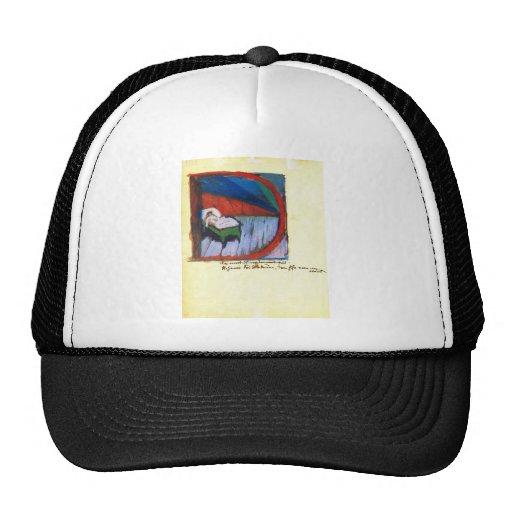 Franz Marc - Vignette D Trucker Hat