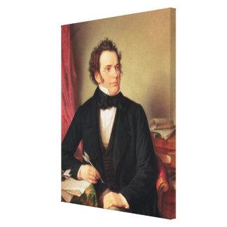 Franz Peter Schubert Canvas Print