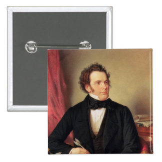 Franz Peter Schubert Pinback Button