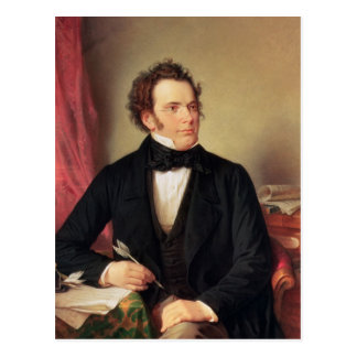 Franz Peter Schubert Postcard