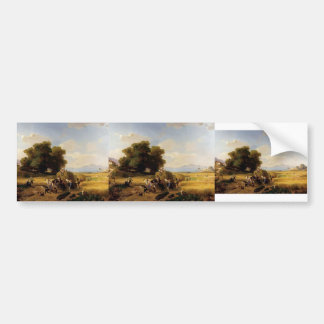 Franz Richard Unterberger- The Last Day Of Harvest Bumper Sticker