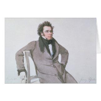 Franz Schubert , 1825 Card