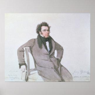 Franz Schubert, 1825 Poster