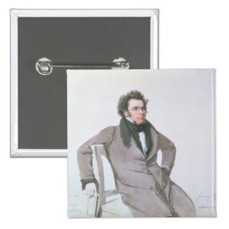 Franz Schubert , 1825 Pinback Button
