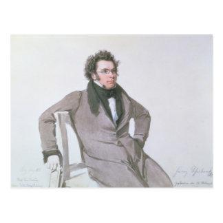 Franz Schubert , 1825 Postcard
