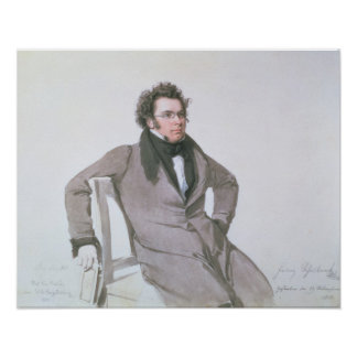 Franz Schubert, 1825 Póster